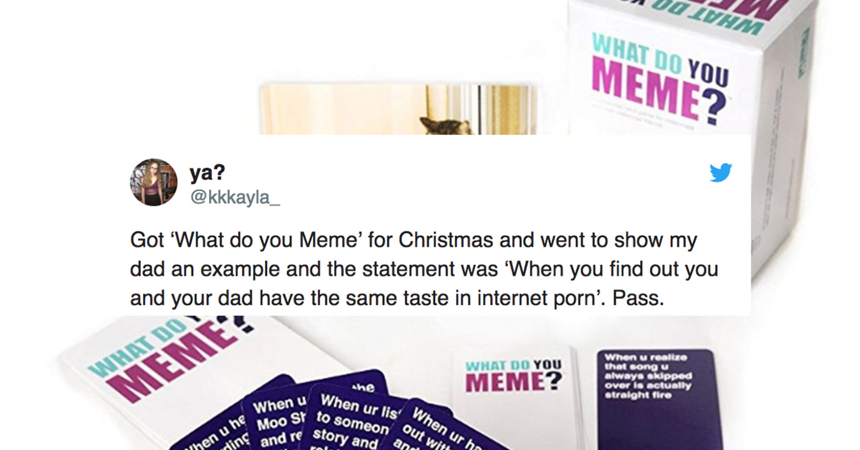 The \'What Do You Meme\' Card Game Has Become A Christmas Hit