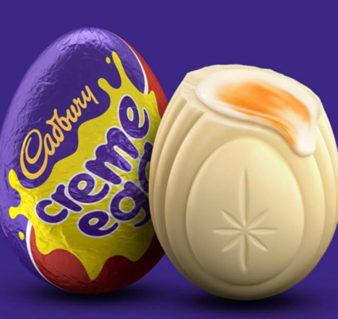 Cadbury White Egg