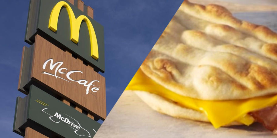 cf4d4dd96e82 McDonald's Is Giving Away Cheesy Bacon Flatbreads Next Week