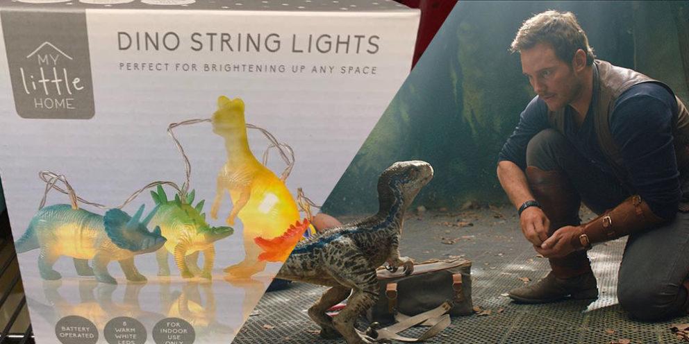 Dinosaur String Lights