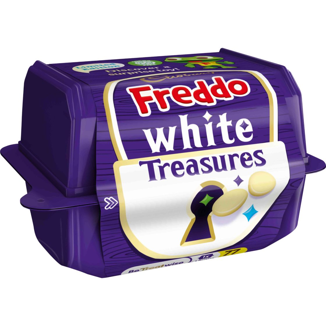 Freddo White Treasures by Cadbury.