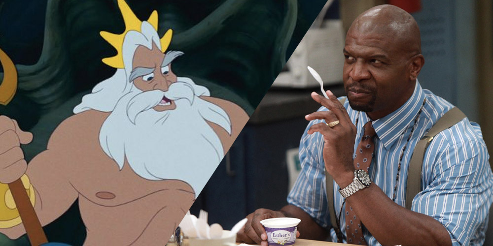 Terry Crews King Triton