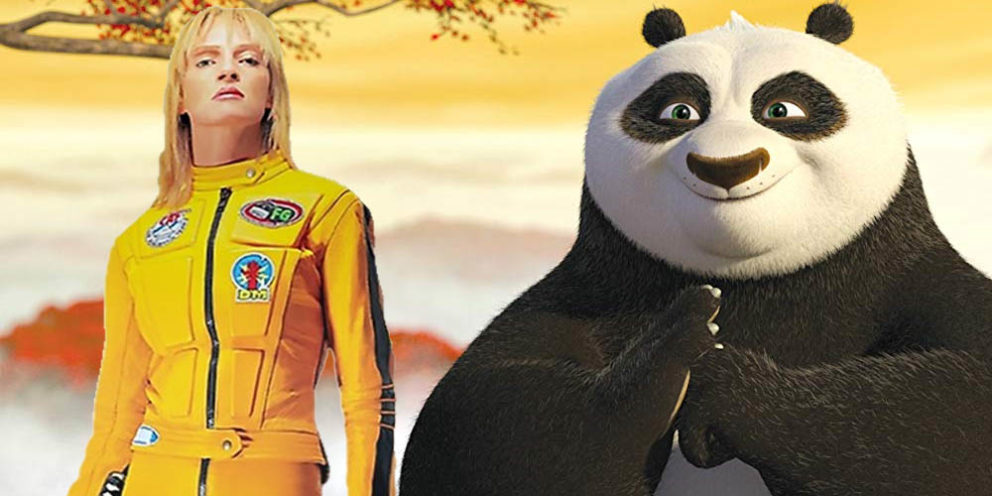 Kill Bill Kung Fu Panda