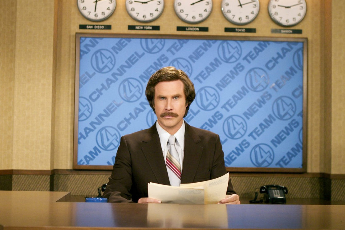 Will Ferrell Anchorman