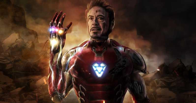 Iron Man Avengers- Endgame