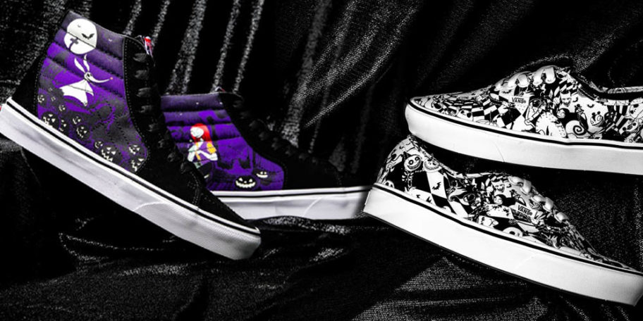 Nightmare Before Christmas Vans Are Here And They\u0027re Perfect