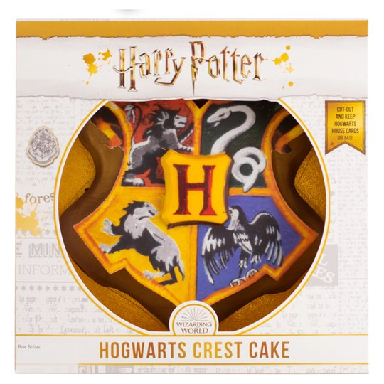 Cool Tesco Is Selling A Harry Potter Crest Cake So You Can Host A Funny Birthday Cards Online Eattedamsfinfo