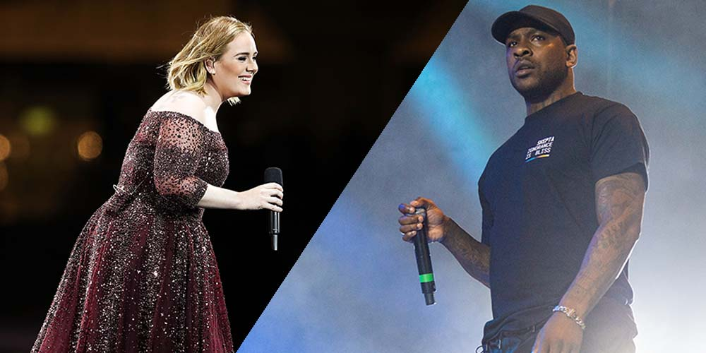 British Artists Adele And Skepta Are Reportedly Dating