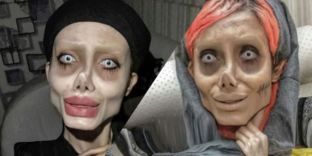 Angelina Jolie Lookalike Interviewed