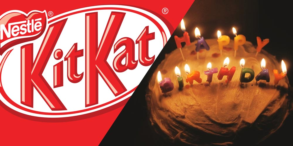 Remarkable Kit Kat Is Launching A Birthday Cake Flavour Funny Birthday Cards Online Fluifree Goldxyz