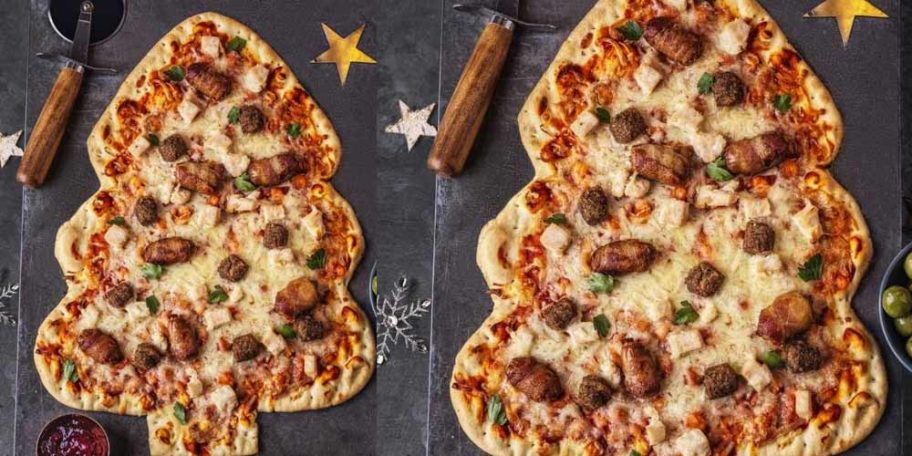 Asda Is Selling A Full Christmas Dinner Pizza