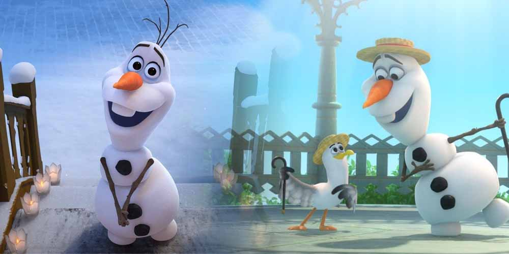 Turns Out Frozen S Olaf The Snowman Is Actually A 5 4 Giant