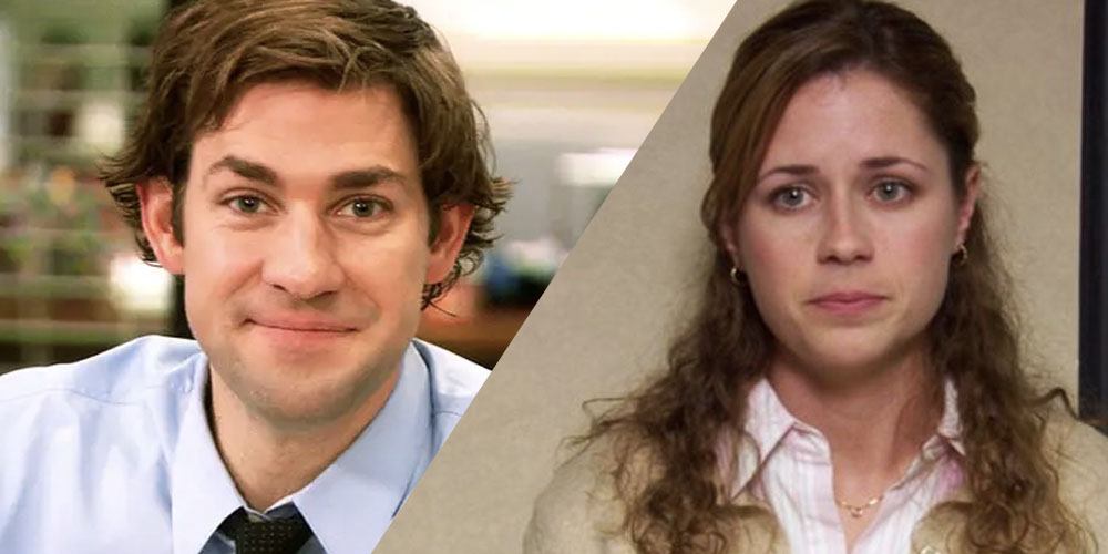 The Office Pam and Jim